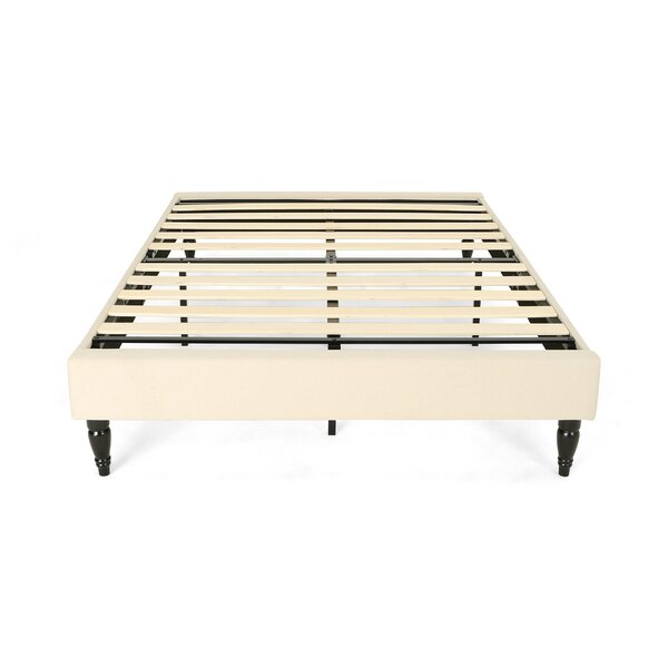 Ideal Fully Upholstered Queen Bed Frame by Ivy Bronx