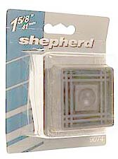 Cushioned Rubber Caster Cups (Set of 4) by Shepherd