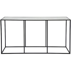 Convention Metal/Glass Console Table by Noir