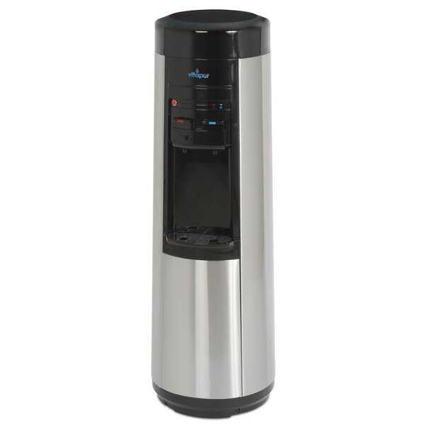 Vitapur Bottleless Free-Standing Hot and Cold Electric Water Cooler by Greenway