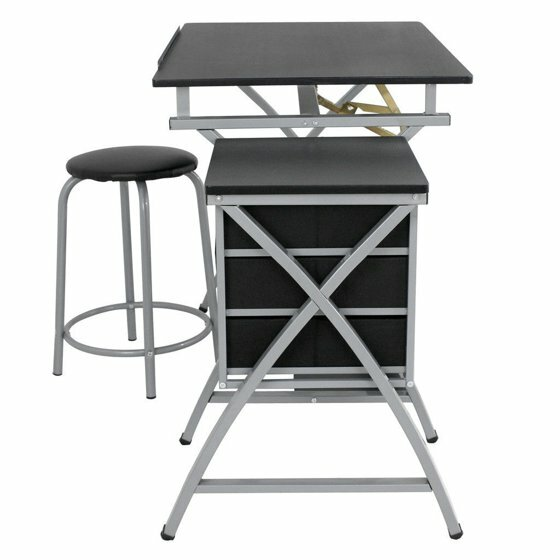 Bessie Art and Craft Folding Adjustable Drafting Tables by Symple Stuff