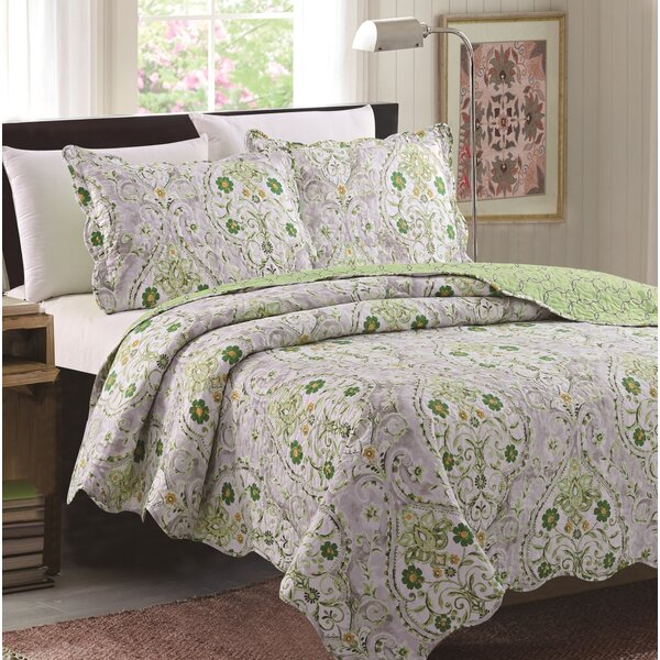 Honn 3 Piece Reversible Quilt Set by Charlton Home