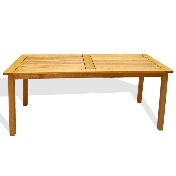 Broadmeade Teak Dining Table by Red Barrel Studio