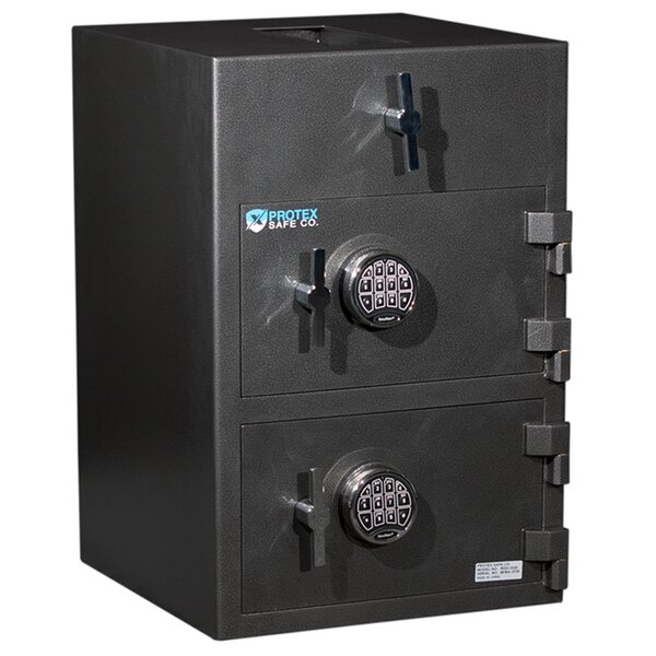 Top Loading Commercial Depository Safe with Electronic Lock by Protex Safe Co.