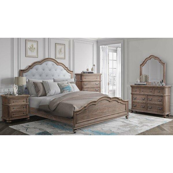 Benji Panel 5 Piece Configurable Bedroom Set by One Allium Way
