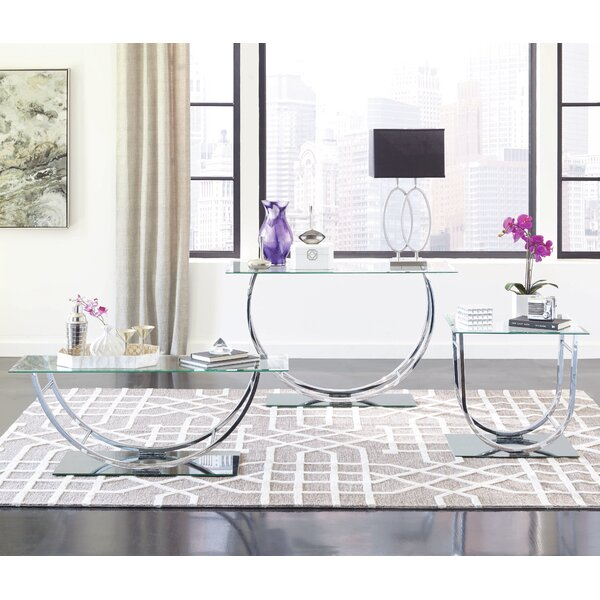 Kegan 3 Piece Coffee Table Set by Zipcode Design