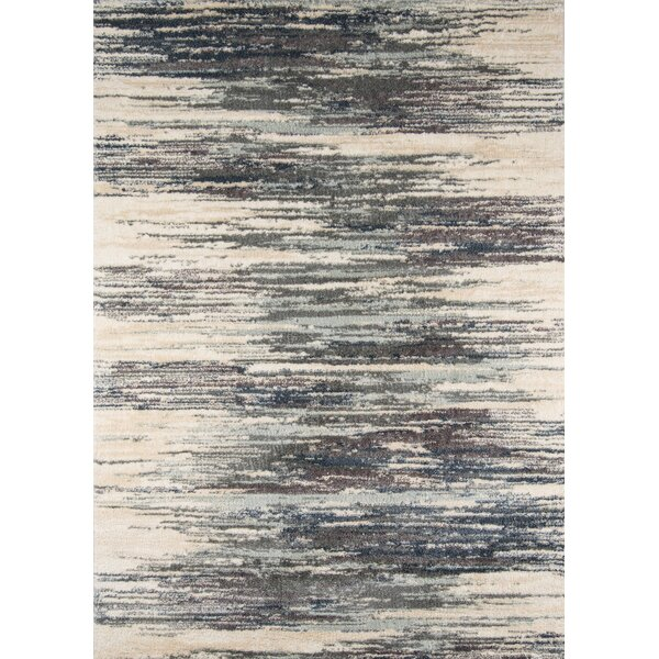 Odyssey Abstract Gray/Ivory Area Rug by Trent Austin Design