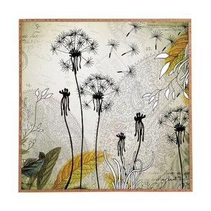 Little Dandelion by Iveta Abolina Framed Graphic Art by Deny Designs