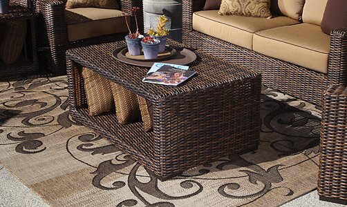 Montecito Wicker Coffee Table by Sunset West