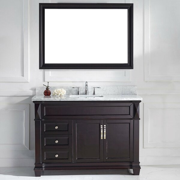 Kace 49 Single Bathroom Vanity Set with Mirror by Darby Home Co