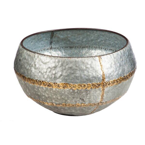 Metal Pot Planter by Evergreen Enterprises, Inc
