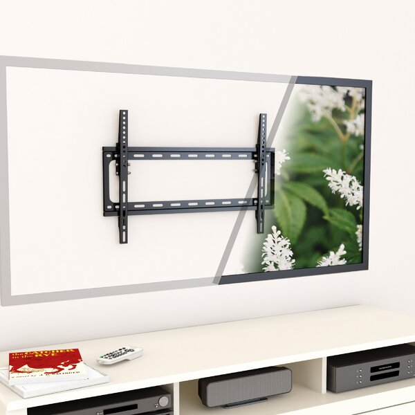 Tilt Wall Mount for 32 - 55 TVs Flat Panel Screens by CorLiving