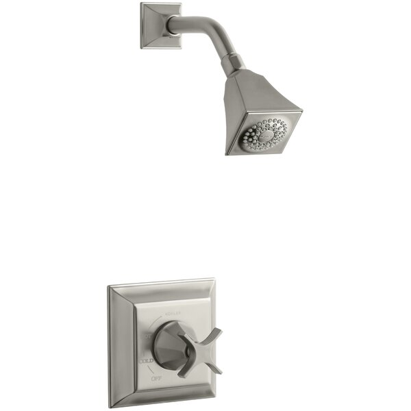 Memoirs Stately Rite-Temp Pressure-Balancing Shower Faucet Trim with Cross Handle, Valve Not Included by Kohler