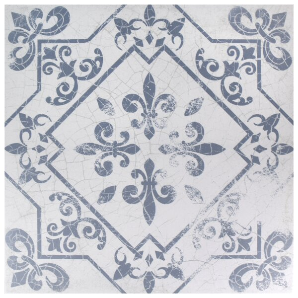 Baltic 17.63 x 17.63 Ceramic Field Tile in Azul by EliteTile