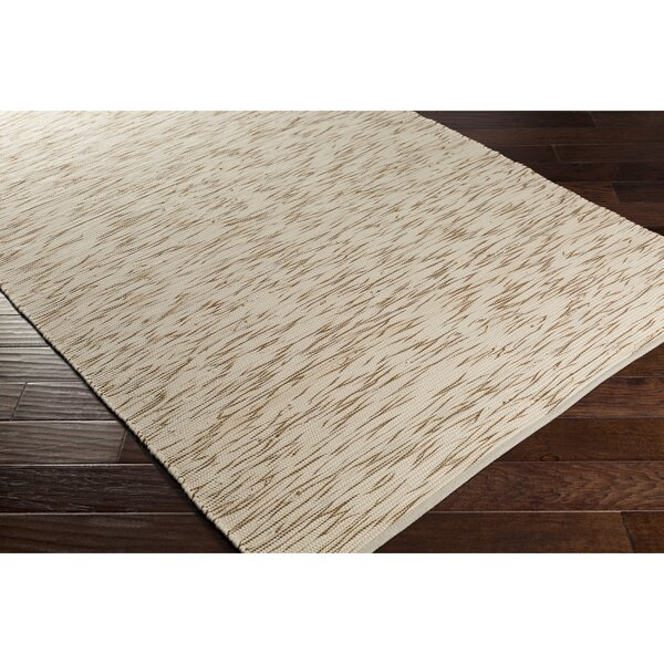 Forestport Hand-Woven Brown/Neutral Area Rug by George Oliver
