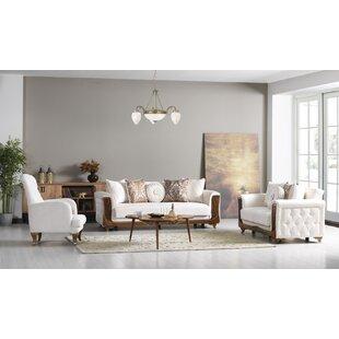 Ralph 3 Piece Sleeper Living Room Set by Willa Arlo™ Interiors