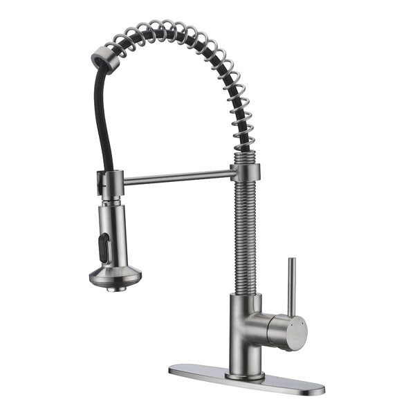 Step Series Pull Down Bar Faucet by ANZZI