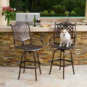 Patio Bar Stools You\'ll Love | Wayfair