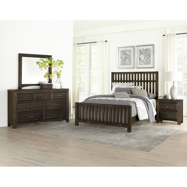 Hernandez Slat Configurable Bedroom Set by Alcott Hill
