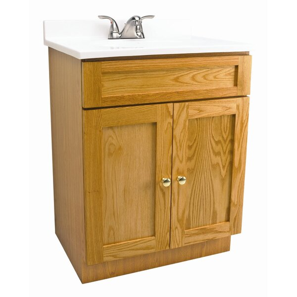 Steubenville 24 Single Bathroom Vanity Set by Andover Mills