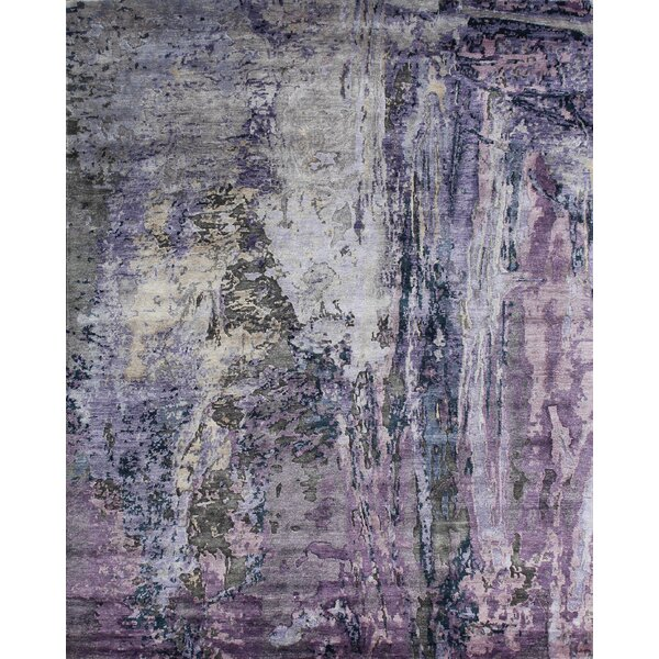 Modern Hand-Knotted Area Rug by Pasargad