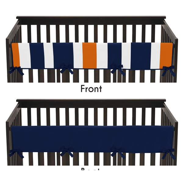 Stripe Crib Rail Guard Cover by Sweet Jojo Designs
