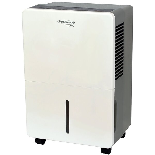 45 Pint Portable Dehumidifier with Casters by Sole
