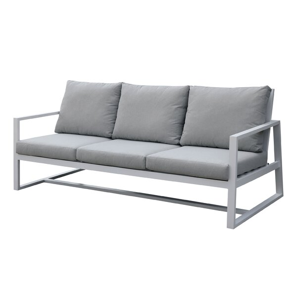 Carvalho Patio Sofa with Cushions by Brayden Studio