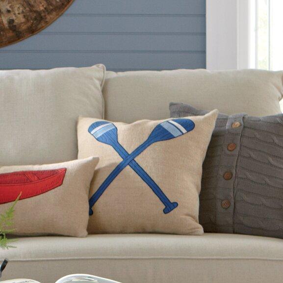 Lakeview Oar Pillow Cover by Birch Lane™