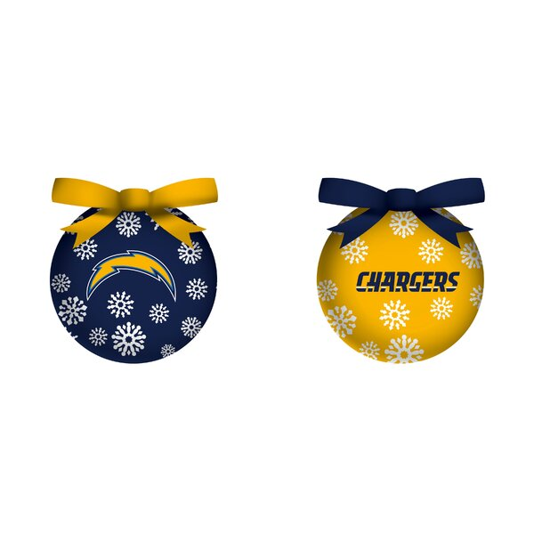 NFL LED Boxed Ornament Set by Team Sports America