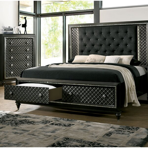 Pilton Upholstered Storage Platform Bed By Everly Quinn by Everly Quinn #2