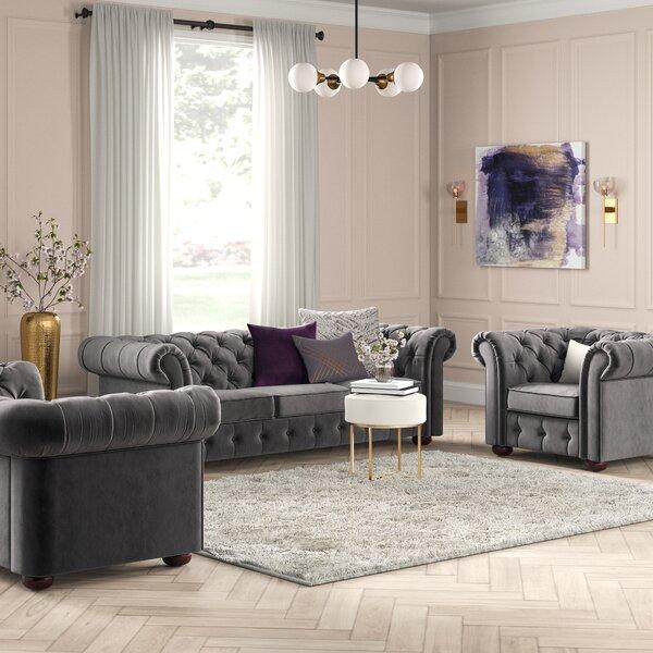 Esai 3 Piece Living Room Set by Willa Arlo Interiors Willa Arlo Interiors