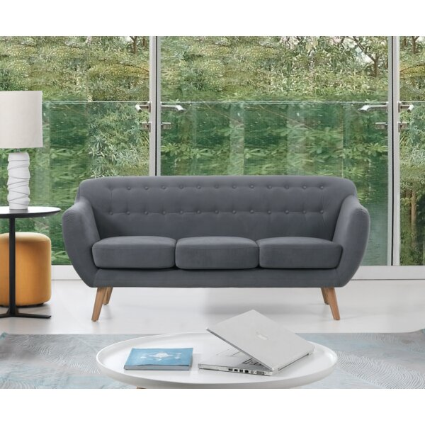 New Collection Cothern 3 Seater Sofa by George Oliver by George Oliver