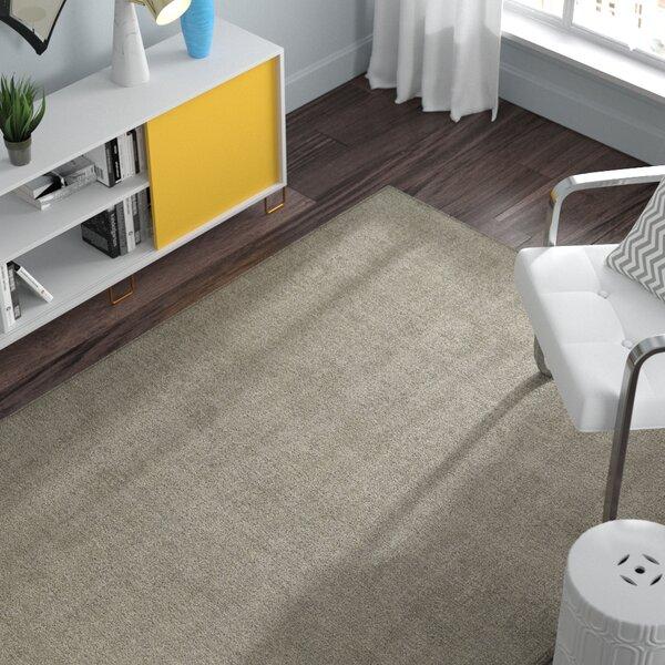 Borica Hand-Loomed Graphite Indoor/Outdoor Area Rug by Ebern Designs