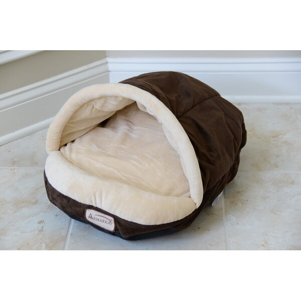 Cat Bed in Mocha and Beige by Armarkat