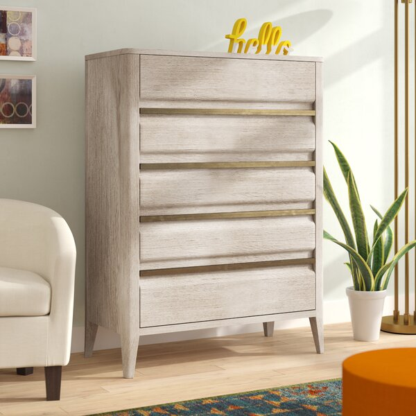 Mcchesney 5 Drawer Chest by Wrought Studio