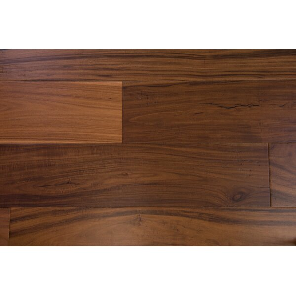Milan 7-1/2 Engineered Acacia Hardwood Flooring in Brown by Branton Flooring Collection