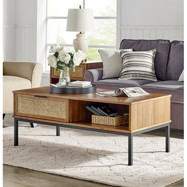 Fahey Coffee Table With Storage By Bay Isle Home