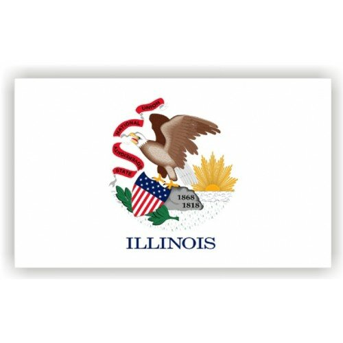 Illinois Traditional Flag by NeoPlex