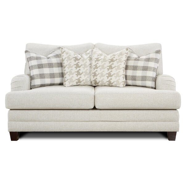 Gassville Charles Of London Loveseat By Darby Home Co