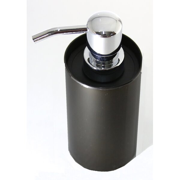 Stainless Steel Bathroom Soap & Lotion Dispenser by Evideco