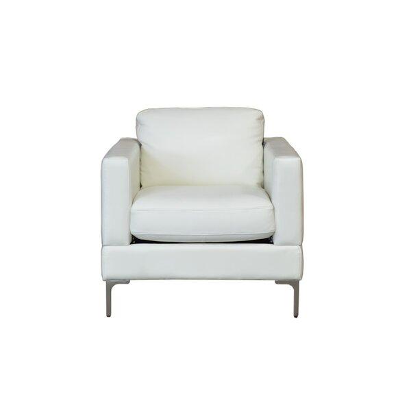 Kathrin Contemporary Armchair by Everly Quinn