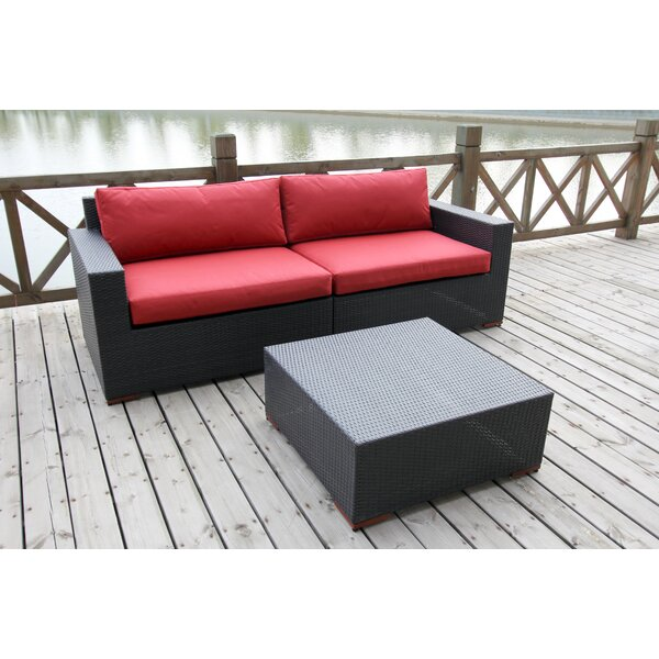 Scholtz 3 Piece Sectional Set by Bay Isle Home