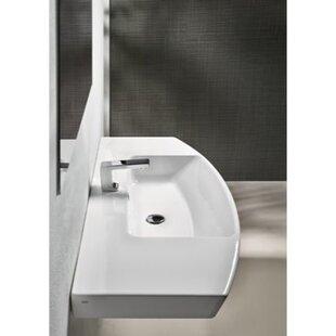 Top Reviews Modo Ceramic Rectangular Drop-In Bathroom Sink with Overflow By GSI Collection