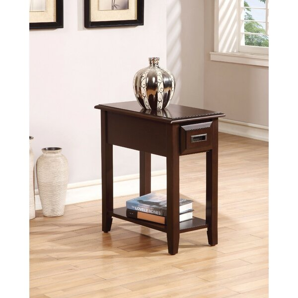 Kravitz End Table With Storage By Alcott Hill
