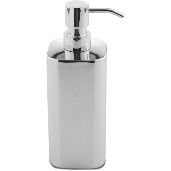 Manzanares Steel Square Stainless Steel Soap & Lotion Dispenser by Latitude Run