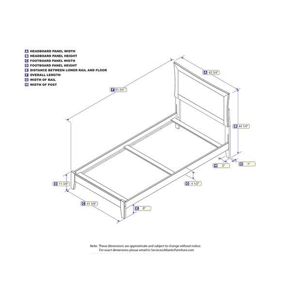 Bremond Standard Bed by Three Posts