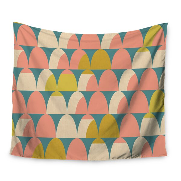 Scallops by Michelle Drew Wall Tapestry by East Urban Home
