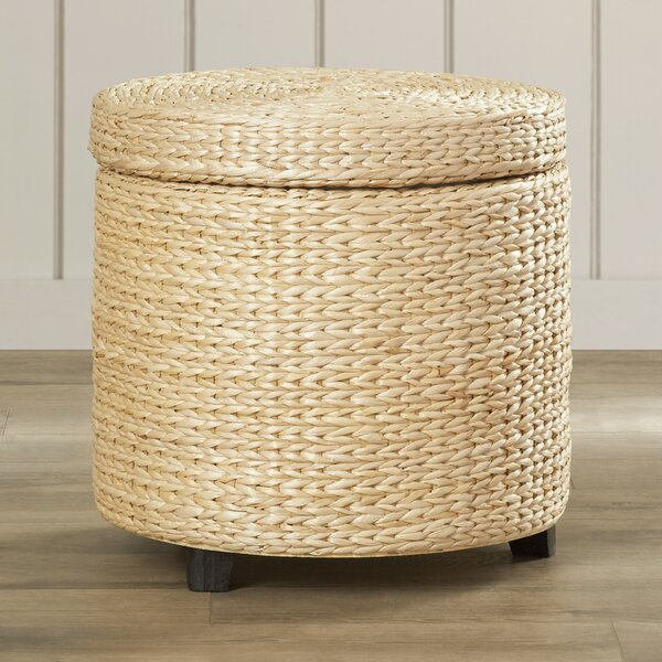 Kianna Storage Ottoman by Beachcrest Home