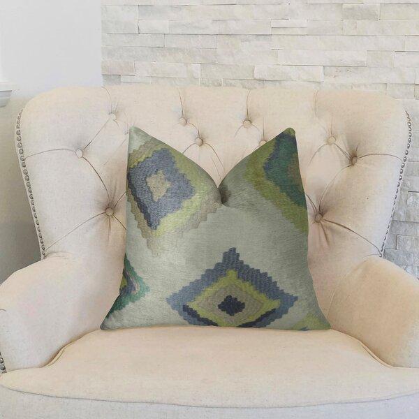 Native Trail Dew Handmade Linen Throw Pillow by Plutus Brands